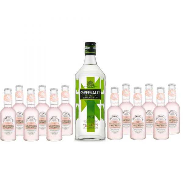 Promo Pack Gin Greenalls 0,7l + 12pcs. Fentimans Pink Grapefruit Tonic 0,2l | Adria Klik Fastest Delivery