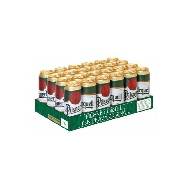 Pilsener Urquell 24 X 0,5l limenka | Adria Klik Najbrža dostava namirnica, vina craft piva i delicija! Naruči iz fotelje najbržu dostavu!