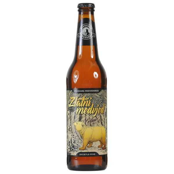 Zlatni Medvjed Pilsner 4,4% alc. 0,5l