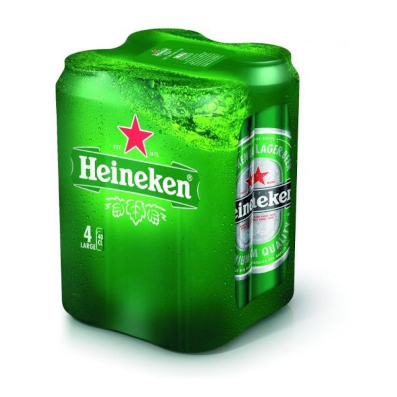Heineken 4 X 0,4 l limenka 4pack   Adria Klik Najbrža dostava namirnica, vina craft piva i delicija! Naruči iz fotelje najbržu dostavu odmah!