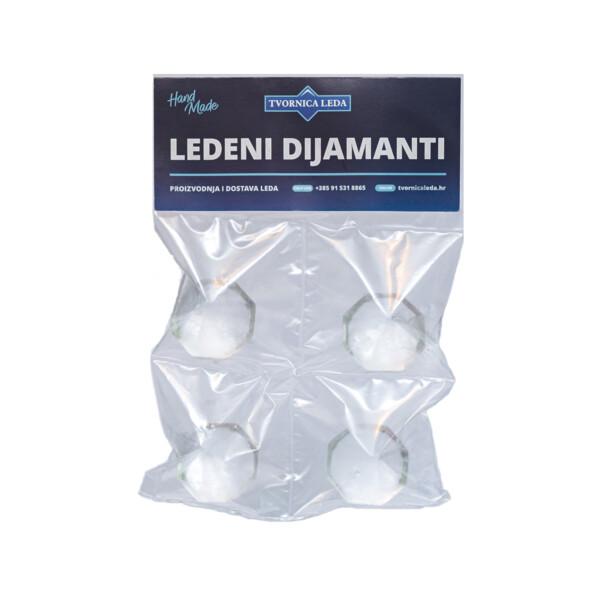 Premium Ledeni Dijamanti 4 kom Tvornica Leda